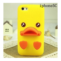 Express Free Shipping Duckbilled Individuality Silicone Soft Case  with stand for phone