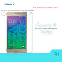Free Ship for Samsung Galaxy Alpha G850F Original Nillkin H Tempered Glass Screen Protector Retail Box