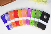 Ultrathin Foldable Case, New Foldable TPU+PC Case for Phone 6 Cellphone Case Free Shipping!