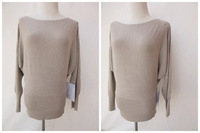 NEW! Fashionable Women Knitted  Pullover Sweater wide and comfortable
