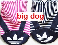 Big Dog Clothes for dogs Large size winter coat Big dogs coat Hoodie apparel 100%Cotton Clothing for dogs sportswear 3XL- 7XL
