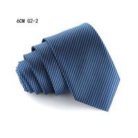 Striped Slim Neck Tie for men Dot skinny necktie