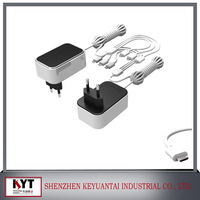 Factory price ac dc adapter 12v 0.8a with KC ,CE,FCC,ROHS ,UL,Certificates
