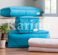 Free Shipping Wholesale NEW Foldable Storage Bag, Fabric Clothing Bag, Home Storage Quilt bag M#