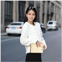Haining imitation fur fur coat the new 2014 Korean short paragraph Plush coat winter female clearance special t-shirts