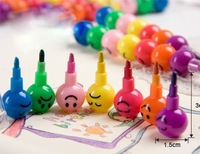 [Free Shipping] Creative Expressions Candy Bunch Color Pencil Wax Crayon 1 Bunch Price