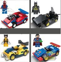 120pcs/lot SY184 The Avengers Super Hero Building block  as christmas gift