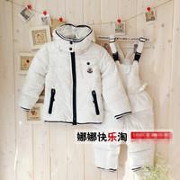 warm winter thicken brand winter boys / girls / toddler duck down coat warm kids outdoor jacket