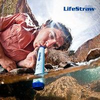 LifeStraw Personal Water Purification Filter Portable Drinking Purifier Camping Hiking Fishing Emergency Preparedness