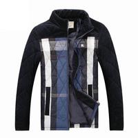 2014 men winter coat  casual brand  jaqueta masculina casacos