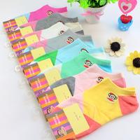 socks ladies cotton socks mouth monkey Lingge boat socks cotton socks invisible stockings shallow mouth socks wholesale