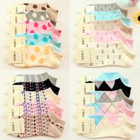 5 pairs of socks cotton socks socks cotton socks, children socks ship stealth stealth boat socks socks wholesale Ms.