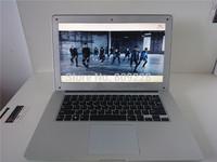 Fast DHL/EMS Shipment Ultraslim 14.1inch laptop Intel Atom N2800 Dual Core  WIFI Camera Bluetooth