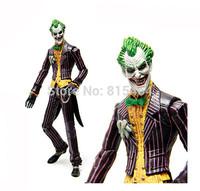 17.5cm The Dark Knight Joker Clown America movie cartoon anime action figure Super Heroes movable toys for children