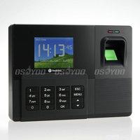 "Realand A-C031 2.8"" USB Biometric Fingerprint Attendance Support Password ID Card TCP/IP Clock Free Express 10pcs/lot"