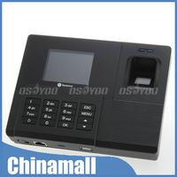 "Hot 2.8"" USB Biometric Fingerprint Password ID Card TCP/IP Attendance Time Clock Free Express 10pcs/lot"