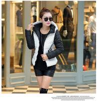New 2014 Fashion Parkas Winter Female Down Jacket Women Clothing Winter  Overcoat Women Jacket Parka