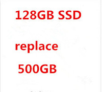 extra fee the specific laptop to be made with 128GB SSD to replace 640GB HDD in the laptop