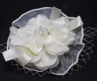 Free shipping Wedding headdress beige floral headdress Continental Banquet hair ornaments
