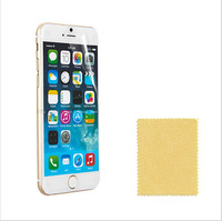"""200PCS=100PCS FRONT FILM +100PCS BACK FILMS High Clear Screen Protector Film For iPhone 6+  PLUS 5.5"""" have cloth without package"""