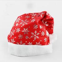 Free Shipping 1pcs/lot Sweetheart Christmas Gift for Kids,Snow Flakes Christmas Caps,Christmas hat for Christmas