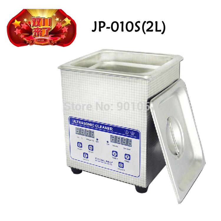 aço inoxidável dentadura limpador ultra-sônico com temporizador digital& controle do aquecedor(China (Mainland))