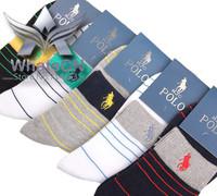 100% cotton classic men's socks warm adults patterned Stripes HJC Polo Brand socks Sport absorbent Sock High Quality Men's Socks