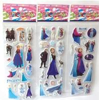 FROZEN STICKER Sheets frozen party supplies Cartoon Stickers frozen favors ELSA ANNA princess classic toys for children baby toy