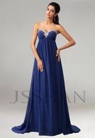 In 2014 the latest fashion chiffon Beading Rhinestones sleeveless wedding bridesmaid dresses size 2 4 6 8 10 12 14 16