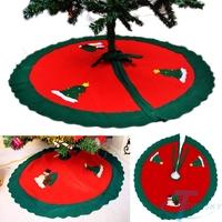 2014 beautiful christmas decoration 90cm christmas tree skirt