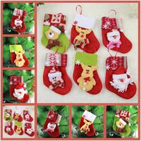 Free Shipping 1pcs/Lot Christmas Stocking and Christmas Gloves Random,Christmas Gift for Kids,Christmas Supplies for Christmas