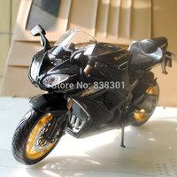 Free Shipping 1/12 Scale Motorbike Model Toys Kawasaki Ninja ZX-10R Black Diecast Metal Motorcycle Model Toy For Gift/Kids