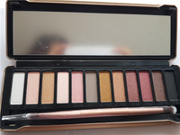 2014 new arrival hot brand new nake 5 makeup eyeshadow palette 12 colors NK5 Eye Shadow Brush makeup set