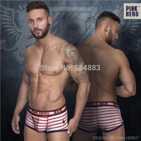 20 pcs/lot wholesale Hot sale Men's Boxer Shorts High quality men underwear cotton men panties 4 colors sexy calecon homme