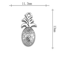 Wholesale Fashion free shipping Anti-Silver originality Fruit and pineapple charms