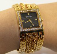 top brand chain new women's rhinestone quartz watches women dress watch women's wristwatch free shipping