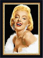 monroe diy  Diamond painting home decorative square diamond cross stitch full set unfinish free shipping