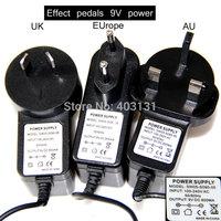 Guitar Effect Pedal Power Supply Adapter 9V DC EU/AU/UK plug
