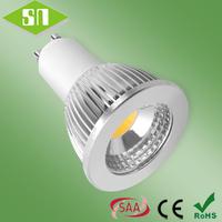 ce rohs saa approved  5w 450lm led light bulb gu10