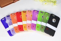 Colorful Flexible TPU Case Back Cover for iphone 6 plus