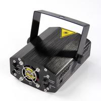 Led  Laser light  DJ party KTV stage light Mini Portable  Adjustment DJ Disco Party Club Projector Black