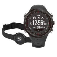 NEW Gps Watch Outdoors sports with Heart Rate Monitor Led Digital Smartwatch Compass Altimeter Barometer Pedometer Military