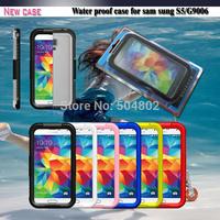 Universal Best selling Powerful Shockproof Dirtproof Waterproof Case With retail Package waterproof Case For Samsung S3 S4 S5