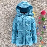 90% boy down coat 2014 Brand New children winter outwear & winter coat for boys & boy clothes of lovely cartoon shape