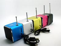 2014 New arrival! Fashion Stereo Mini Speaker USB,TF Card MP3 Music Portable Speakers FM Radio Digital Speaker #11 SV001051