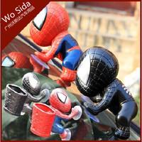 Car interior decorations Spiderman doll doll ornaments sucker phone holder glove barrel ornaments boutique