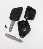 FOR PEUGEOT 106 205 206 306 405 406 2 BUTTON REMOTE KEY FOB CASE SHELL UNCUT BLADE