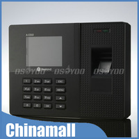 """New 2.8"""" LCD Biometric Time Recording Fingerprint Password ID Card Attendance Time Clock Recorder Free Shipping & Drop Shipping"""
