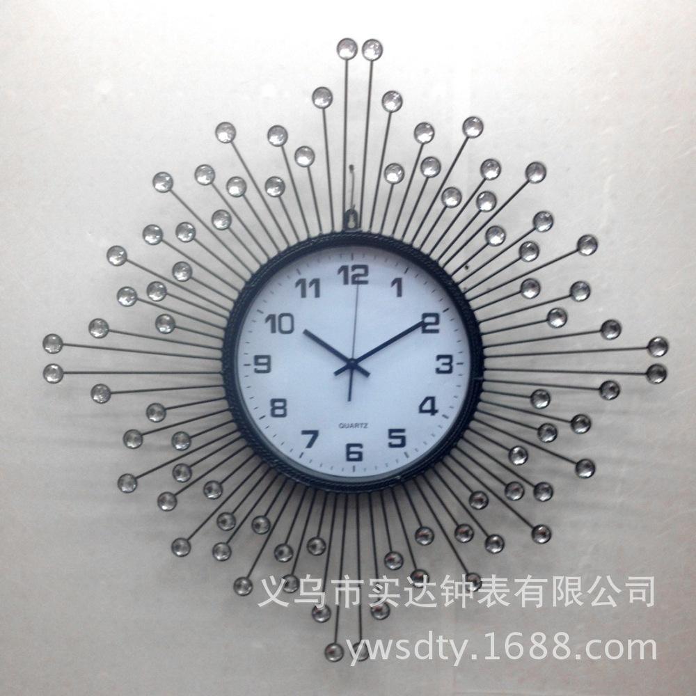 Wall Clock Shida SD11014 Tianyuan Jing tone diamond fashion home living personality of Modern Art Bell creative(China (Mainland))