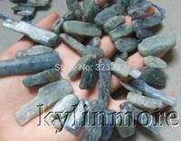 8SE10409 kyanite 8x15-15x38mm 16'' Rough Beads
